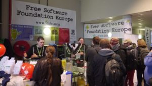 free software foundation stand